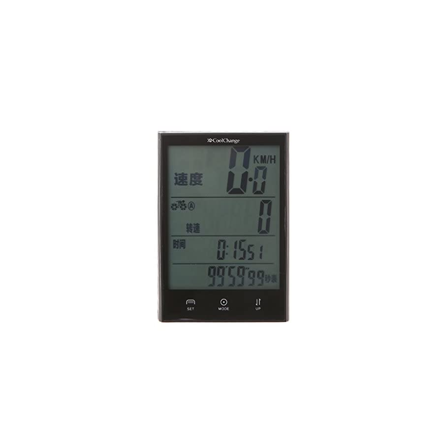 BetterM Waterproof Wired Bikes Computer Speedometer, Multifunction Cycling Odometer LCD Displaying