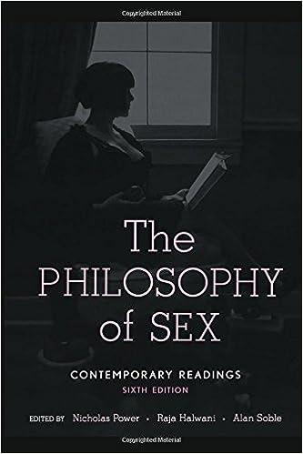 Sex is philosophy