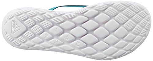 adidas Damen BORAMA Flex CF Y Zehentrenner SHOGRN/BOBLUE/FTWWHT