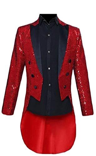 Slim Blazer Maniche Lunghe Rot Elegante Con Saoye Fit Tuxedo Ballo Giacca Vintage Sposa Fashion Da Uomo Giovane E TIw5Zxq65