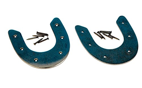 10 Pair of Size Mediums Metal Army Rim Horseshoe Heel Plates for Boots & Shoes Size Medium