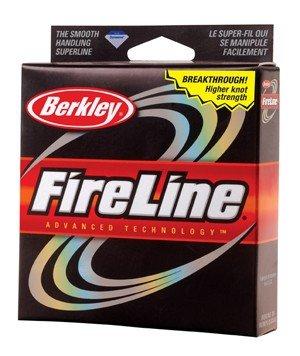 Berkley FireLine Original Fused Fishing Line 125 - yd., SMOKE, 20 LB
