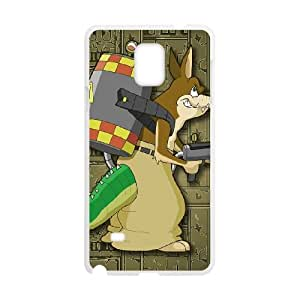 Crash Bandicoot Samsung Galaxy Note 4 Cell Phone Case White 53Go-488446