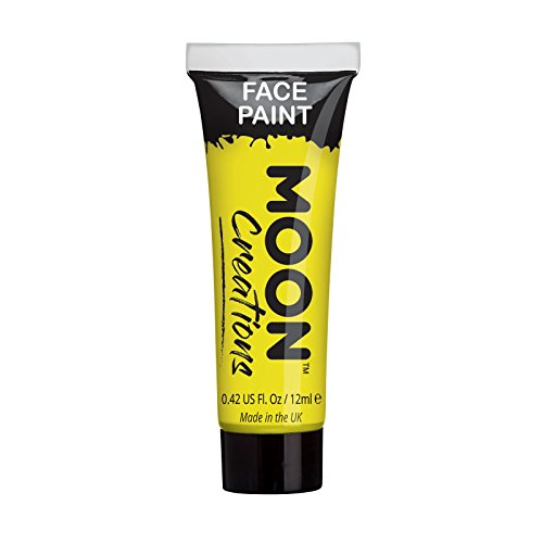 Face & Body Paint by Moon Creations - 0.40fl oz - Yellow ()