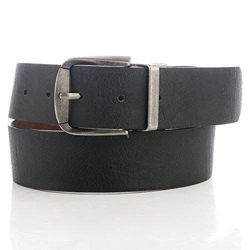mens belts reversible leather Jean Belt with Reversible Belt Buckles 36