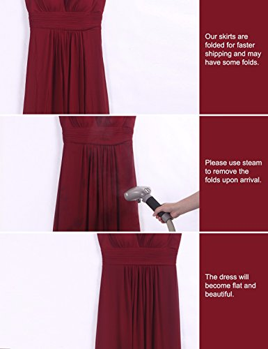 Ever-Pretty Womens Elegant Ruffles Wedding Guest Dresses 4US Red by Ever-Pretty (Image #6)