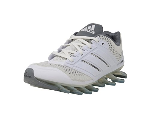 new arrival 3606d f13b7 adidas Springblade Drive Boys Running Shoes (4.0 M US) White - Import It All