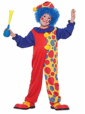 Forum Novelties Rainbow Clown Costume