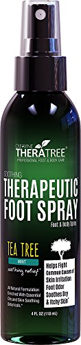 TheraTree Foot Spray – Shoe & Foot Odor Eliminator with Te