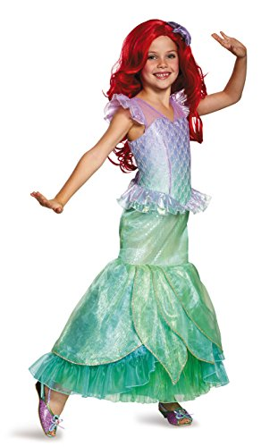 Ariel Ultra Prestige Disney Princess The Little Mermaid Costume, Small/4-6X