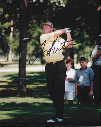 (Tom Kite Signed - Autographed Golf 8x10 inch Photo)
