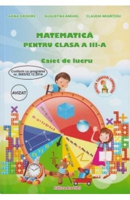 Matematica Cls 3 - Caiet De Lucru (Romanian Edition)