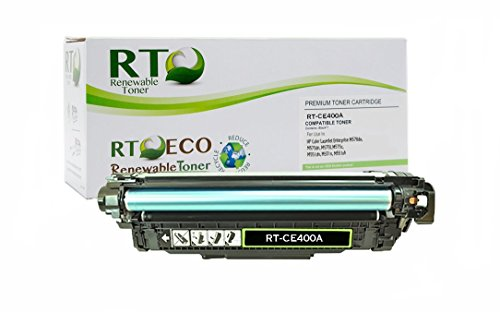 Renewable Toner 507A Compatible Toner Cartridge Replacement HP CE400A for HP LaserJet Enterprise 500 M570 M575 M551 Series