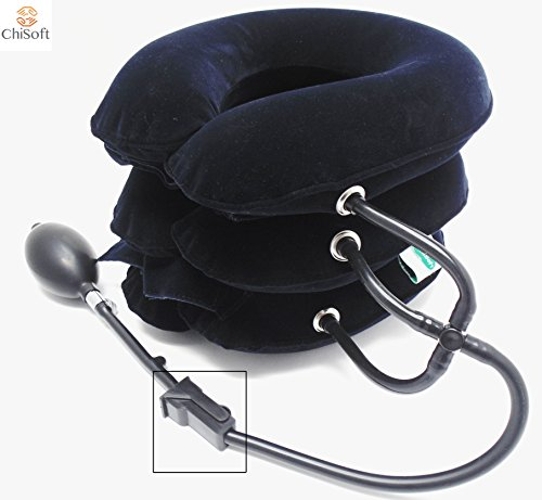 Neck Traction Device No1 Doctors Recommended Chisoft® Nec...