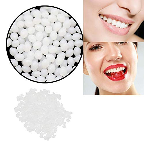 SAQIMA Temporary Tooth Repair Kit Teeth and Gaps False Teeth Solid Glue Denture Adhesive Home Necessity