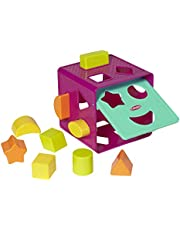 Playskool Form Fitter, Shape Sorter: Ages from 18 months: Classic Toy Provides Opportunities for Baby and Toddler to Practise Fine Motor Skills and Matching