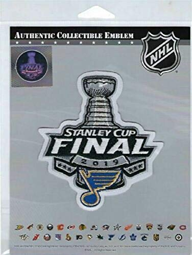 2019 Stanley Cup Final Patch with Blues Logo PRE-Order Item - Shipping Begins June 6TH ()