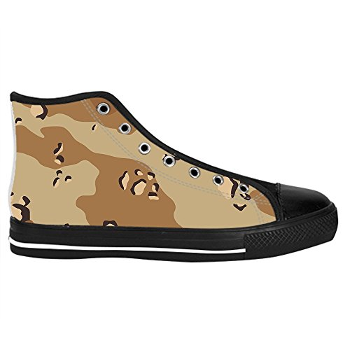 Dalliy tarnung Men's Canvas shoes Schuhe Lace-up High-top Sneakers Segeltuchschuhe Leinwand-Schuh-Turnschuhe