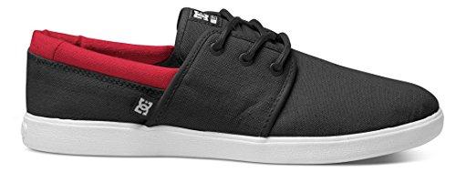 DC Shoes Dc Herren Schuhe Haven - Zapatillas de skate Hombre Negro - Schwarz (Black/Red BLR)