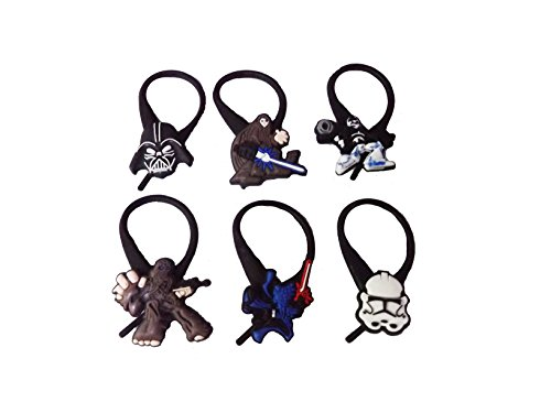 Dea Jacket Costume (AVIRGO 6 pcs Soft Zipper Pull Charms for Jacket Backpack Bag Pendant Set # 1002 -)