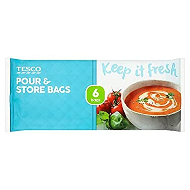 316a471f2f73 Tesco Pour And Store Bag 6 Pack  Amazon.co.uk  Grocery