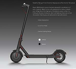 Xiaomi Ninebot Mijia M365 - Scooter eléctrico, color negro (black)