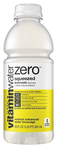 Glaceau Vitamin Water Zero, Squeezed, 20 - Glaceau Vitamin Water Shopping Results