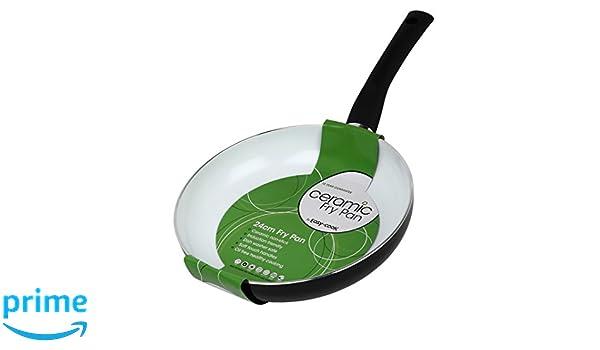Easy-Cook - Sartén de cerámica y Aluminio (20 cm), 24 cm: Amazon.es: Hogar