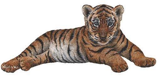 Walls of the Wild Tiger Cub Wall Mural