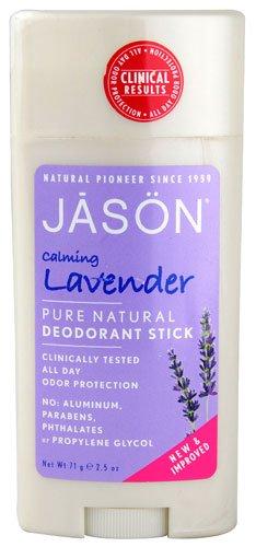JASON NATURAL PRODUCTS DEOD STK,LAV,ALUM&PAR FR, 2.5 OZ
