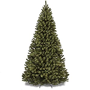 Best Choice Products 7.5ft Premium Spruce Hinged Artificial Christmas Tree w/Easy Assembly, Foldable Stand - Green 2