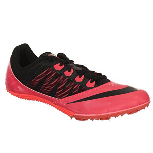 NIKE ZOOM RIVAL S7 ATOMIC RED/BLACK MENS SPIKED TRACK SHOE US 8 M EURO 41 (Zoom Rival S7)