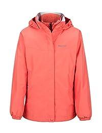 Marmot Northshore Girls' Waterproof Hooded Rain Jacket with Removable Fleece Liner