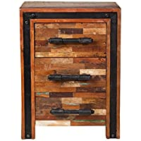 Jaipur Mixed Reclaimed Mango Wood Nightstand