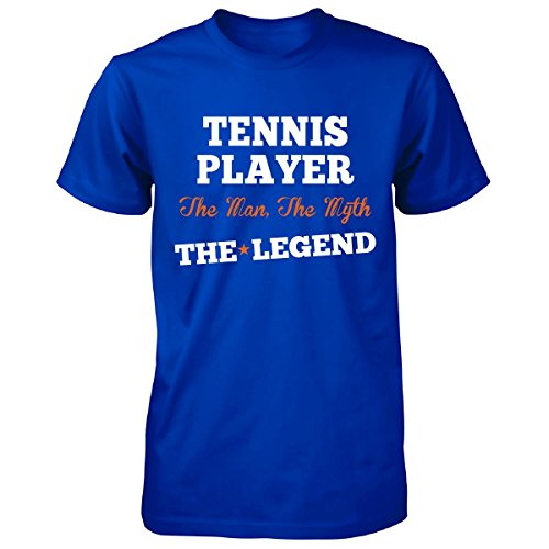 Tennis Player The Man, The Myth The Legend Funny Gift - Unisex Tshirt