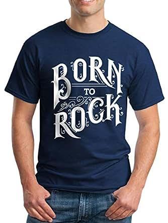 Teedesignshop Navy Round Neck T-Shirt For Men