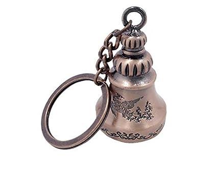 HITSAN Llavero vintage de metal con diseño de campanilla de ...