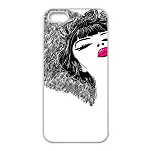 Custom Hand Painted Angel Design Rubber TPU Case for Iphone 5 5S