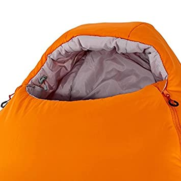 Quechua Forclaz 0/5 ° ultraligero Bivouacking/senderismo/trekking saco de dormir - Orange: Amazon.es: Hogar