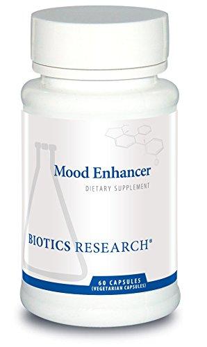Mood Enhancer - Biotics Research Mood Enhancer - Neurological Health, Nootropics, Brain Health, 5-HTP, Serotonin Precursor, St. John's Wort, Neurotransmitter Function, Memory, Mood, Sexual Health, Sleep Support. 60c