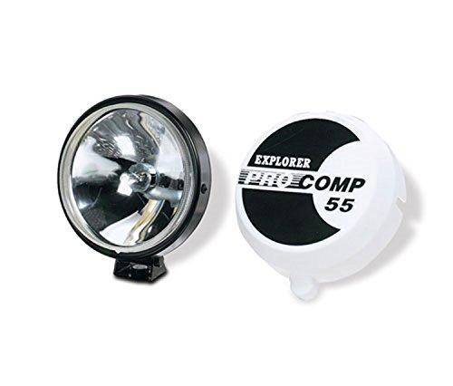 Explorer Pro Comp 9551 Black Plastic Cover 55-Watt Spot Light