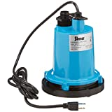 Simer 2300 1/4 HP Submersible Utility Pump