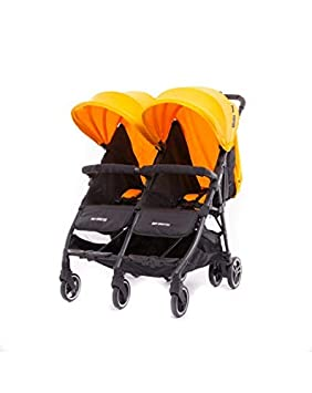 Baby Monsters-Silla Gemelar Ligera Kuki Twin + Regalo de un bolso Neceser organizador- Danielstore (Mango)