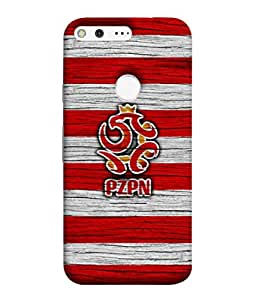 ColorKing Football Poland 10 Multicolor shell case cover for Google Pixel XL