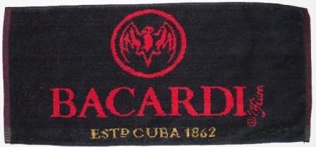 "Bacardi Cotton Bar Towel 20"" x 9"" (pp)"