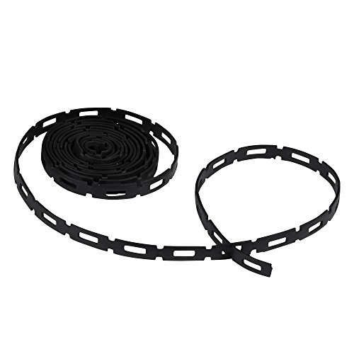 Dimex EasyFlex Plastic Locking Tree, Plant, and Cable Ties, 1/2-Inch Wide, 100 Foot Coil, SoftFlex (1150-2)