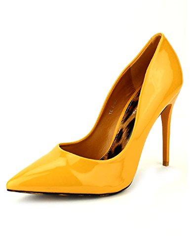 Cendriyon Escarpin Color Moutarde Verni LUX Lex Léopard Chaussures Femme Jaune AA0cGNz1