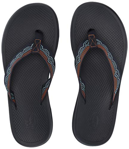 Chaco Mens Leather Flip Sandals - Chaco Men's Playa PRO Web Hiking Shoe, blip Aqua, 10.0 M US