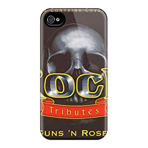 High Quality Phone Case For Iphone 4/4s With Provide Private Custom Attractive Guns N Roses Series AlissaDubois