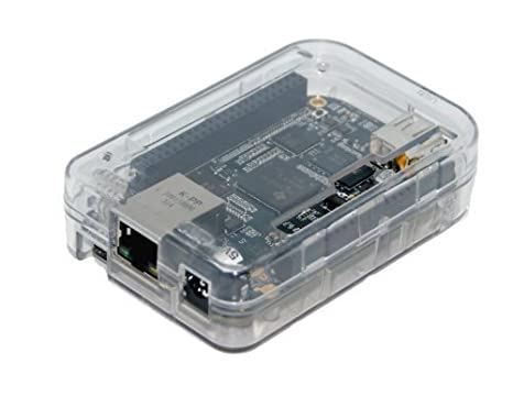 Clear Case for BeagleBone Black Transparent (Clear) by SB Components Computer Cases at amazon
